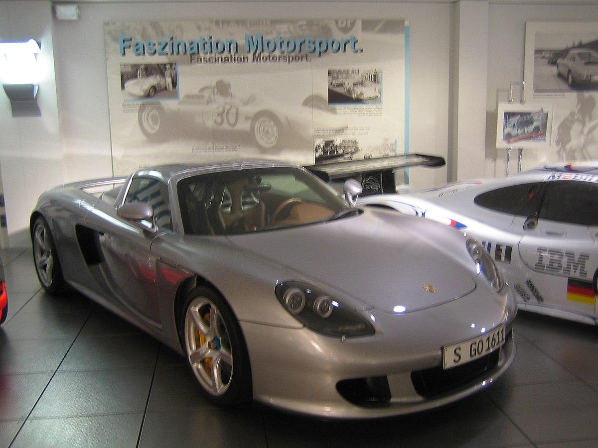 Ficheiro 2003 Porsche Carrera Gt Jpg Wikipedia A Enciclopedia Livre