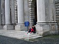 2005-05-01 - Ireland - Dublin - Trinity College Sleeping Student 4887812026.jpg