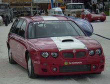 Land Speed Record >> MG ZT - Wikipedia