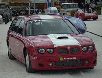 MG ZT - This MG ZT-T became the world's fastest (non production) estate in 2003