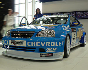 2007 World Touring Car Championship - Alain Menu (Chevrolet Lacetti) placed sixth in the Drivers' Championship