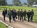 2007 Diplomatic Security Training 02 Arriving for the Handover of the Training Facility.jpg