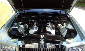 Rolls-Royce Phantom (2003) - V12 engine of a 2008 Phantom