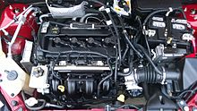 Duratec 20 under the hood of a 2009 Focus