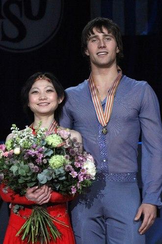 Yuko Kavaguti - Kavaguti/Smirnov perform at the  2010 European Championships