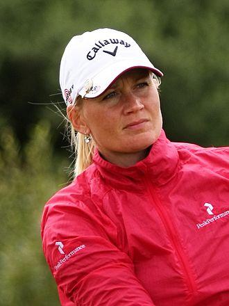 Linda Wessberg - Wessberg at the 2010 Women's British Open
