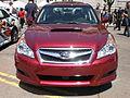 2010 red Subaru Legacy front.JPG