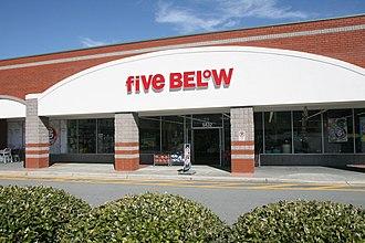 Five Below - Five Below in Durham, North Carolina.
