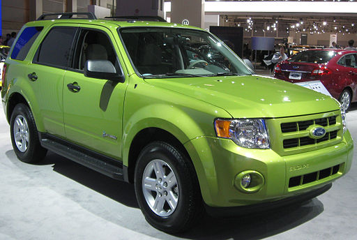 2011 Ford Escape Hybrid -- 2011 DC