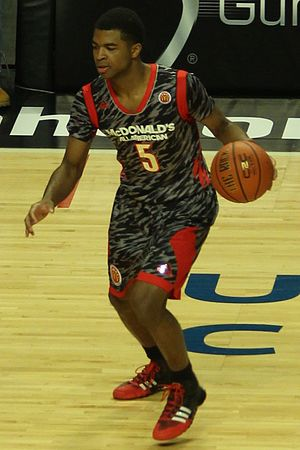 Andrew Harrison (basketball) - Harrison in the 2013 McDonald's All-American Boys Game