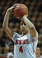 2013 Virginia Tech - Robert Morris - Hannah Young free throw.jpg