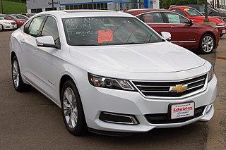 Chevrolet Impala Full-size car produced by Chevrolet