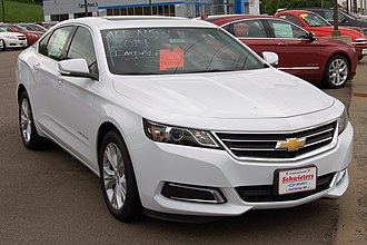 E-segment - Chevrolet Impala   (2013-present model shown)