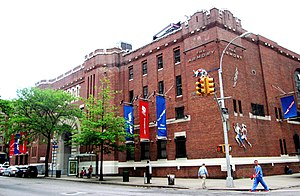 Fort Washington Avenue Armory - The west facade of the building (2014)