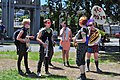 2014 Fremont Solstice parade - Yes Ma'am Brass Band 01 (14324169529).jpg