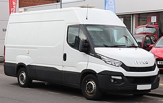 Commercial van produced by the Iveco