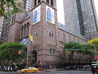 St. Paul the Apostle Church (Manhattan) - Image: 2014 St. Paul the Apostle Church 8 10 Columbus Avenue