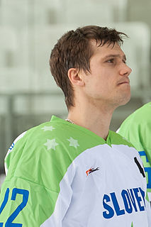 Marcel Rodman Slovenian ice hockey player