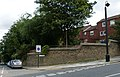 2015 London-Woolwich, Red Barracks wall 08.JPG