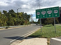 2016-10-23 12 37 49 View east along Virginia State Route 237 (Washington Boulevard) at U.S. Route 29 (Lee Highway) in Arlington County, Virginia.jpg