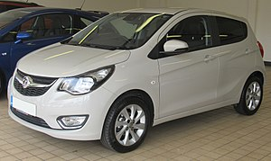 Opel Karl - Vauxhall Viva Front
