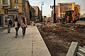 2016 roadworks in Mokhovaya Street and Manezhnaya Square (30570220484).jpg