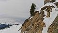 2017.01.27.-49-Paradiski-La Plagne-Champagny-en-Vanoise-Wanderweg nach Champagny le Haut--Felsen neben Wanderweg.jpeg