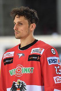 Fabio Hofer Austrian ice hockey player