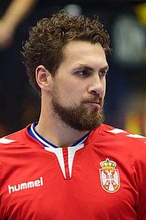 Bogdan Radivojević Serbian handball player
