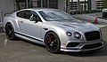 2017 Bentley Continental Supersports in Extreme Silver, front right.jpg