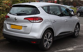 2017 Renault Scenic Dynamique rear 2017 Renault Scenic Dynamique NAV DCi 1.5 Rear.jpg