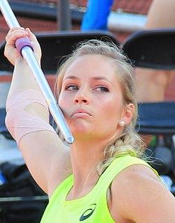 Kelsey-Lee Barber Australian javelin thrower