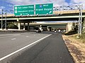 2018-10-29 13 31 14 View north along Virginia State Route 286 (Fairfax County Parkway) at the exit for Interstate 66 WEST (Front Royal) in Fair Lakes, Fairfax County, Virginia.jpg
