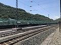 201908 Tracks at Chatan Station.jpg