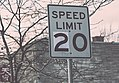 20 Miles Per Hour - Speed Limit Lowering - Lyndale Avenue South in Minneapolis (24874425425).jpg