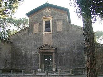 Santi Nereo e Achilleo - Façade of the basilica of Santi Nereo e Achilleo