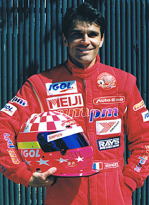Franck Fréon - Franck Freon at Indianapolis Speedway in 1995