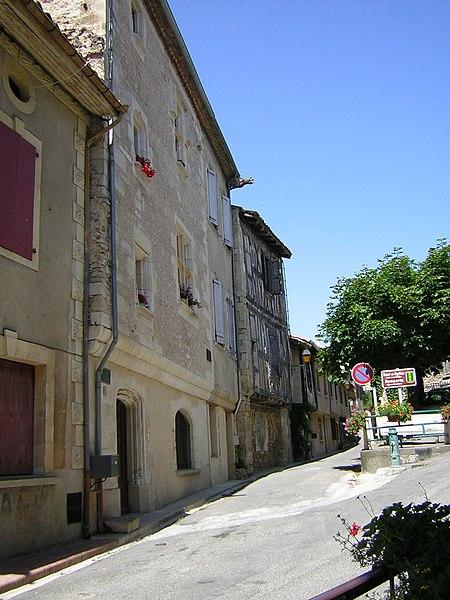 Calle de Aurignac (Alto Garona, Francia).