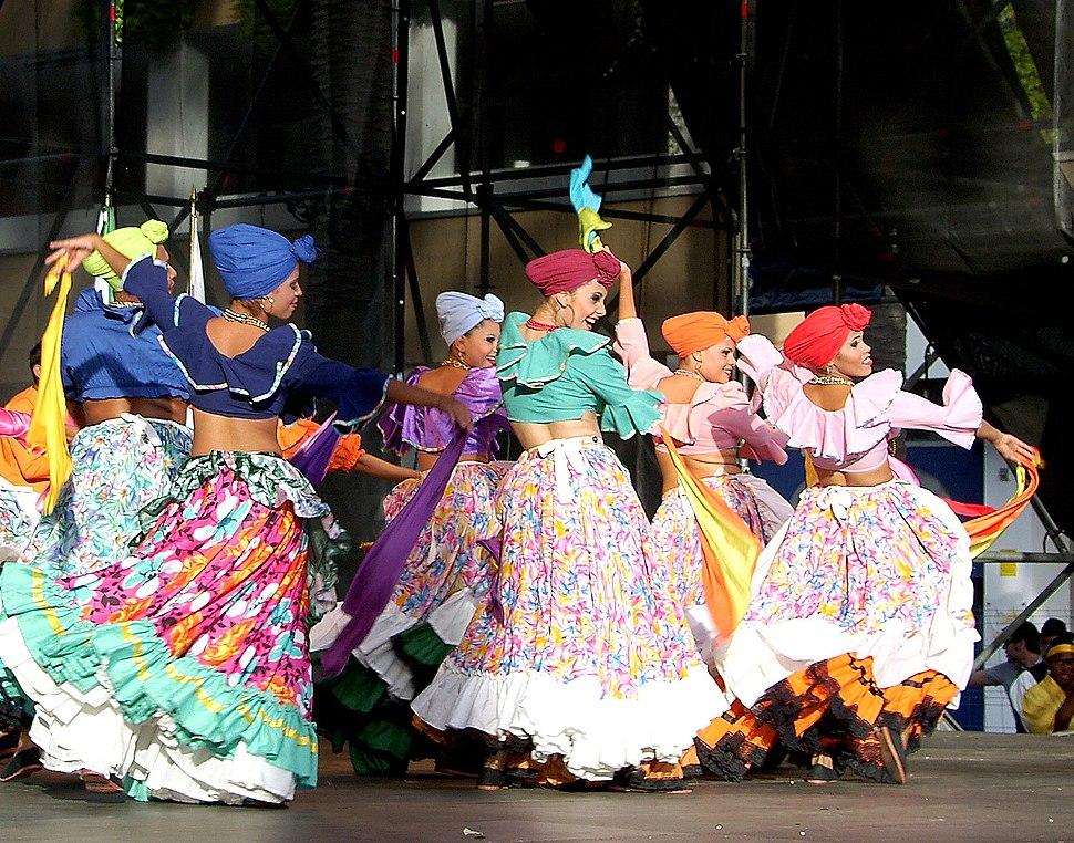 2952-Danzas Guanaguanare de Venezuela no Festival folclorico da Coruña. (8200095256)