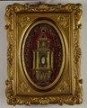 2991 Reproducción de un pequeño altar neoclásico con reliquias, dientes de san Silverio y de los papas martirizados.tif