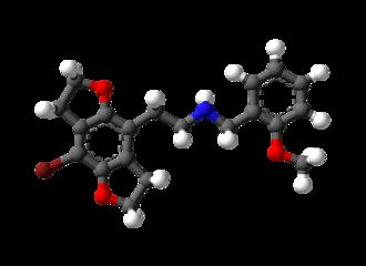 2CBFly-NBOMe - Image: 2CBFly NBO Me 3D balls