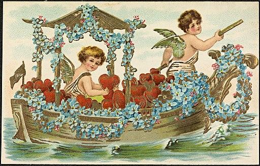2 cupido-figurer i båt (12429195823)