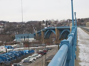 31st Street Bridge - Image: 31st Street Bridge, Pittsburgh