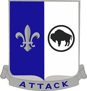 371st Infantry Regiment (United States) - Distinctive Unit Insignia