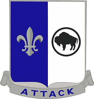 371st Infantry Regiment (United States) - Distinctive Unit Insignia