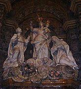 545px-Madonna del Rosario formiello - particolare