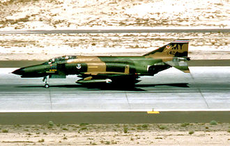 69th Fighter Squadron - F-4E-39-MC Phantom II (s/n 68-0424) from the 69th Tactical Fighter Squadron, 347th Tactical Fighter Wing, 1981