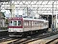 767 model train at Ueno-shi Station.jpg