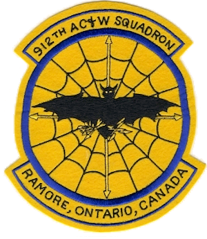 912th Aircraft Control and Warning Squadron - Emblem of the 912th Aircraft Control and Warning Squadron