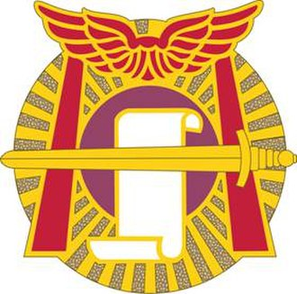 95th Civil Affairs Brigade - Image: 91 CA Bn DUI